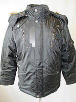 Мужские прямые куртки с капюшоном., фото 1