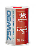 Масло трансмиссионное WOLVER MULTIPURPOSE GEAR GL-4 75W90 1л