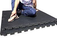 Модульное покрытие для спортивных залов CrossFit Pro с заглушками