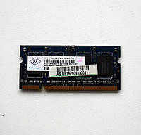 256 Память SO-DIMM 512 MB DDR2-667 PC2-5300 NANYA для ноутбуков