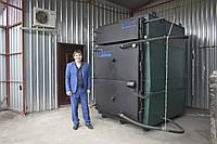 Твердотопливный котел  на соломе Патрiот В 500С от 100 до 500 кВт
