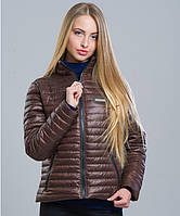 Стильная куртка женская №5 шоколад
