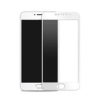 Скло 3D Meizu M5 Білий