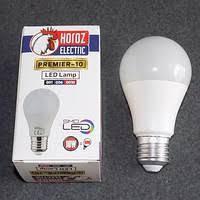 Светодиодная лампа A60 LED 10W E27 6400K