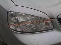 Реснички на фары для Chevrolet Lacetti 2004-2013 седан узкие
