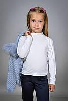 Детская водолазка белая