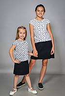 Детская блузка для девочки с коротким рукавом, фото 1