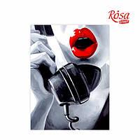 Полотно на картоні з контуром, «Pop Art Passion», 30*40, бавовна, акрил, ROSA Talent