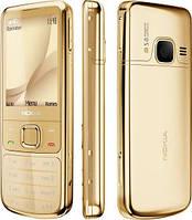 Эффектный телефон копия nokia 6700 золотой, китайская копия