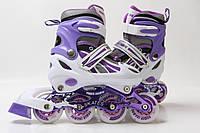 Ролики Power Champs фиолетовый
