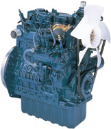 Дизель  D902-E3B  кВт / л.с .: 18,5 / 24,8; об/мин: 3600; Эмиссия: EPA / CARB Tier 4