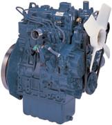 Дизель  D1005-E2B  КВт / л.с .: 17,5 / 23,5; об/мин: 3000; Эмиссия: EPA / CARB Tier 2