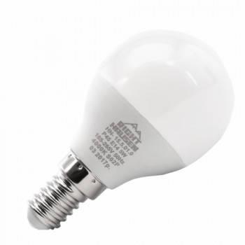 Светодиодная лампа  RIGHT HAUSEN LED Premium ШАР 7W E14 4000K, G45