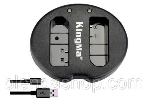 Зарядное устройство USB для 2-х аккумуляторов Nikon EN-EL14, EN-EL14A