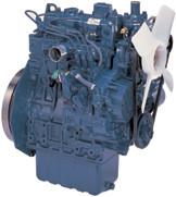 Дизель  D1105-E2B  КВт / л.с .: 19,4 / 26,0; об/мин: 3000; Эмиссия: EPA / CARB Уровень 2 EU Stage IIIA