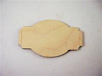 Шильда на шкатулку №1 120*72 мм
