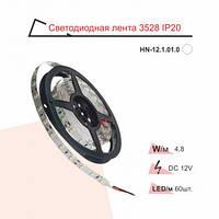 Стрічка світлодіодна RIGHT HAUSEN IP20 SMD 2835 червона