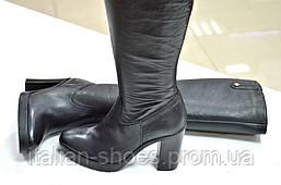 Сапоги женские кожаные Superba к.911