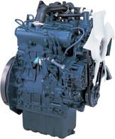 Дизель  D1105-Т-E2B  КВт / л.с .: 24,5 / 32,8; об/мин: 3000; Эмиссия: EPA / CARB Tier 2 / EU Stage IIIA