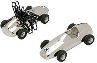 Магнит для скрепок  Racing Car - Гоночный автомобиль Romanowski Rm0386 серебристый