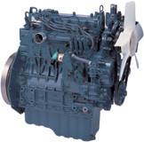 Дизель  V1505-E2B  кВт / л.с .: 26,5 / 35,5; об/мин: 3000; Эмиссия: EPA / CARB Tier 2 / EU Stage IIIA