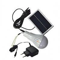 Лампа RIGHT HAUSEN SMD LED акум. з зарядкою від сонячної батареї та від мережі