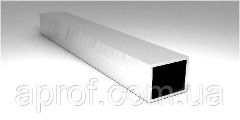 Труба алюмінієва квадратна 50х50х3мм (АНОД)