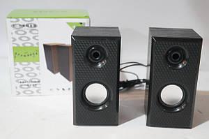 Компьютерные активные USB  колонки HI Fi М-006