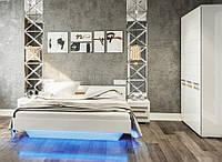 Спальня  Бьянко белый глянец
