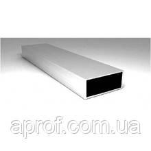 Труба алюминиевая прямоугольная 20х10х1,5мм (АНОД)