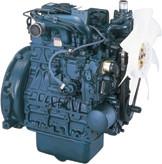 Дизель  D1703-М-E2B  КВт / л.с .: 27,4 / 36,7; об/мин: 2800; Эмиссия: EPA / CARB Tier 2 / EU Stage IIIA