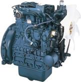 Дизель  D1803-М-ДИ-E3B  кВт / л.с .: 27,9 / 37,4 ; об/мин: 2700; Эмиссия: промежуточный уровень EPA / CARB Tier 4 / EU Stage IIIA
