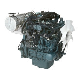 Дизель  D1803-CR-TE4b  КВт / л.с .: 37,0 / 49,6; об/мин: 2700; Эмиссия: EPA / CARB Tier 4 / EU Stage IIIB