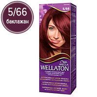 Wellaton Краска для волос №05/66 Баклажан (крем-краска, стойкий насыщенный цвет)