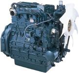 Дизель  V2203-М-E2B  КВт / л.с .: 36,4 / 48,8; об/мин: 2800; Эмиссия: EPA / CARB Tier 2 / EU Stage IIIA