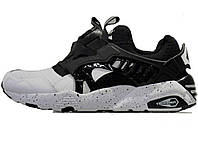 Мужские кроссовки PUMA Disc Blaze Monkey Time White Black (Реплика ААА+) 6053e01da72
