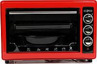 Электрическая духовка для дачи настольная ECOTEC EC-RO 2505 Красная