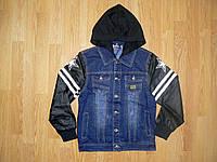 Джинсовые куртки  на мальчиков оптом, S&D, 4-12 рр.