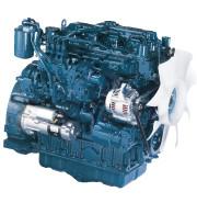 Дизель  V2607-DI-E3B  кВт / л.с .: 36,5 / 48,9; об/мин: 2700; Эмиссия: EPA / CARB промежуточный уровень 4 / EU Stage IIIA