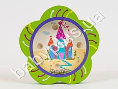 Деревянная игрушка Лабиринт Цветочек, в кульке MD0706