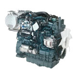 Дизель  V3307-CR-TE4b  кВт / л.с .: 55,4 / 74,3; об/мин: 2600; Эмиссия: EPA / CARB Tier 4 / EU Stage IIIB