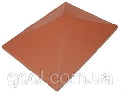 Колпак керамический Roben цвет красный размер 44х32 см.