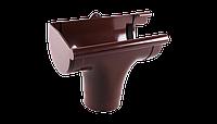 Ливнеприемник левый водосточной системы Profil 90/75