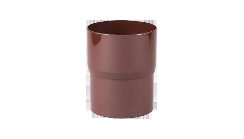 Соединитель трубы водосточной Profil 100 Красный / Графит