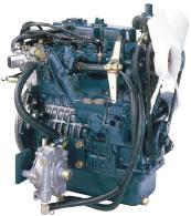 Бензин / LPG - сжиженный нефтяной газ  DF972-E2  КВт / л.с .: 24,2 / 23,1 / 32,4 / 31,0; об/мин: 3600; Выбросы: Другое