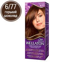 Wellaton Краска для волос №06/77 Горький шоколад (крем-краска, стойкий насыщенный цвет)