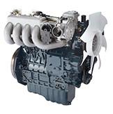 Бензин  WG1605-G-E3  кВт / л.с .: 42,5 / 57,0; об/мин: 3600; Эмиссия: уровень EPA 2 / уровень CARB 3