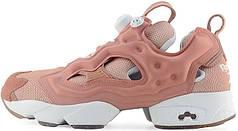 Женские кроссовки Reebok Wmns x Size Insta Pump Fury NT OG Pink White BD3007, Рибок Инстапамп