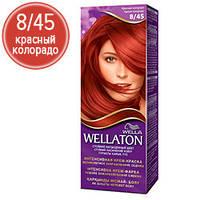 Wellaton Краска для волос №08/48 Красный колорадо (крем-краска, стойкий насыщенный цвет)