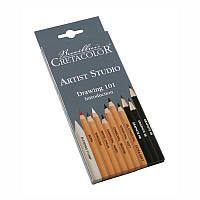 Набір олівців для рисунку Artist Studio, 11 шт., карт. коробка, Cretacolor